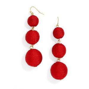 BaubleBar Crispin Drops- Red